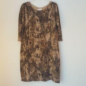 Women dress, size XL, brand Calvin Klein, S142